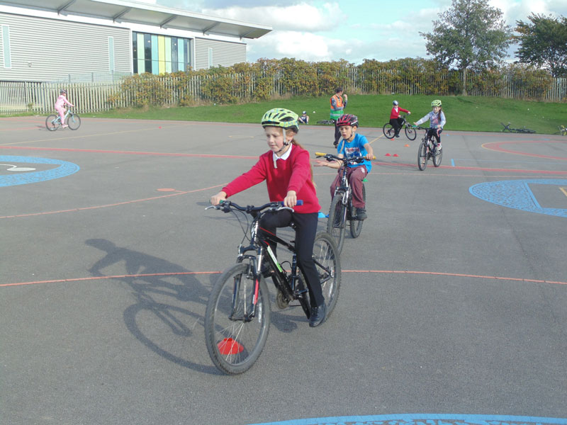 Year 5 and 6 learn valuable cycling skills
