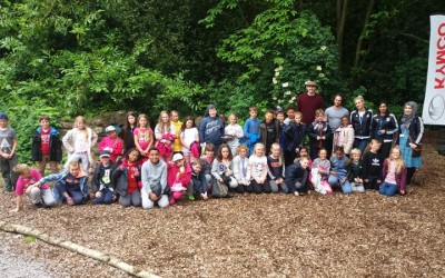 Year 4 slept at school and it was brilliant!
