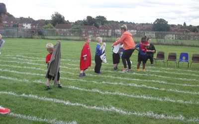 Athletes of the future race at KS1 and EY Sports Day