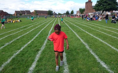 Key Stage Two Sports Day Success