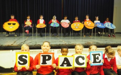 Year 5 assembly was truly out of this world!