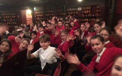 Year 6 enthralled at the ballet