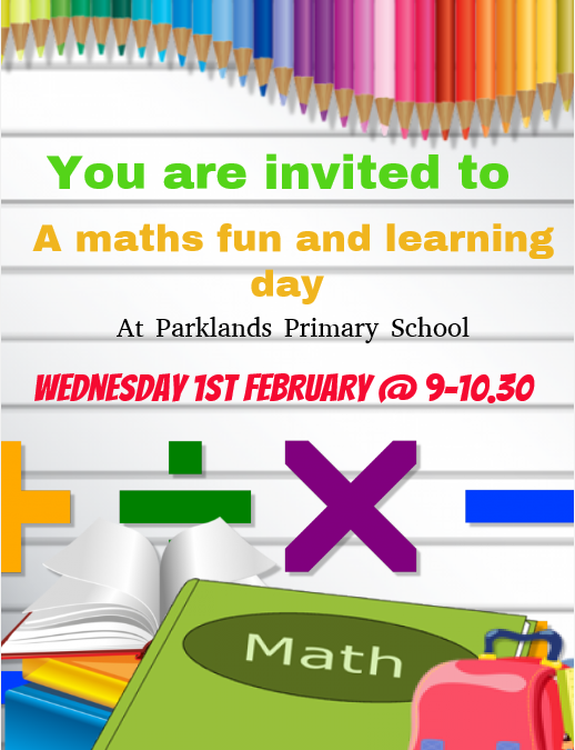 #caringissharing Maths morning