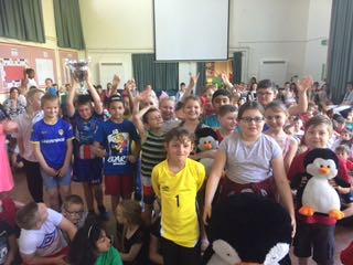 It's this weeks Attendance Champions with 98% … 4C again …. attendance rules