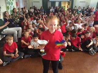 XTable Champions – brilliant Tyler KS1 and Olivia in KS2