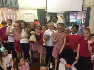 99% Attendance Winners this week are 5B – our sponsors TDDirect will be so proud