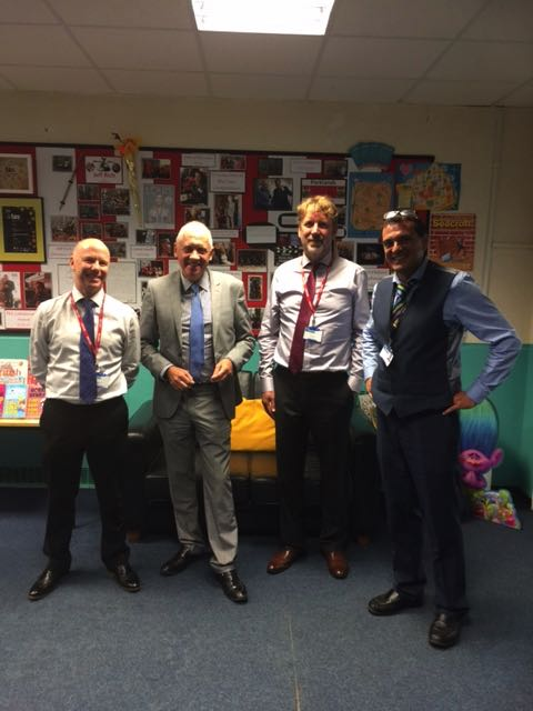 Brilliant author and ex Ofsted Inspector Paul Garvey visit