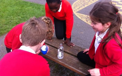 Volcanoes erupt in Year 4