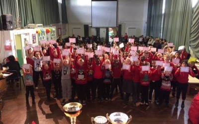 82 children gained 100% Attendance