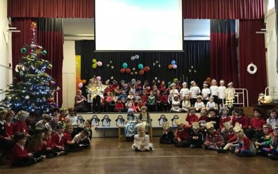 KS1's performance of Shine Star, Shine