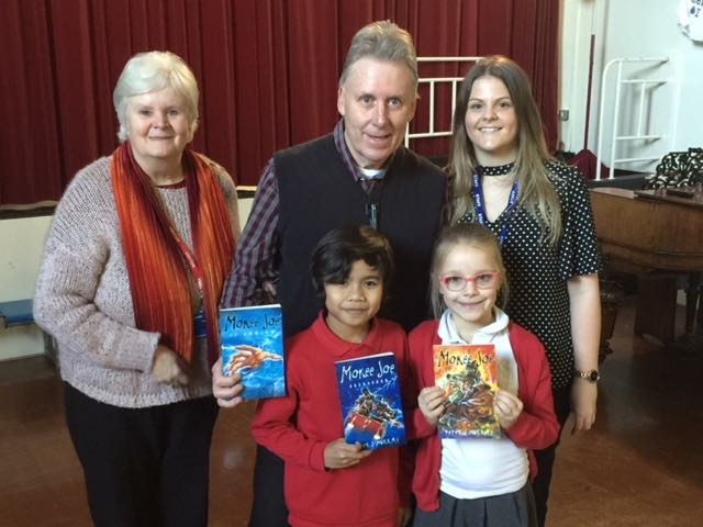 Author Peter J Murray Visits