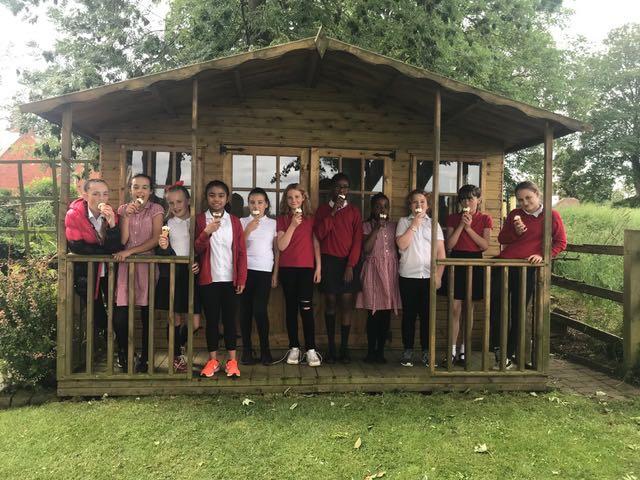 School Choir afternoon tea