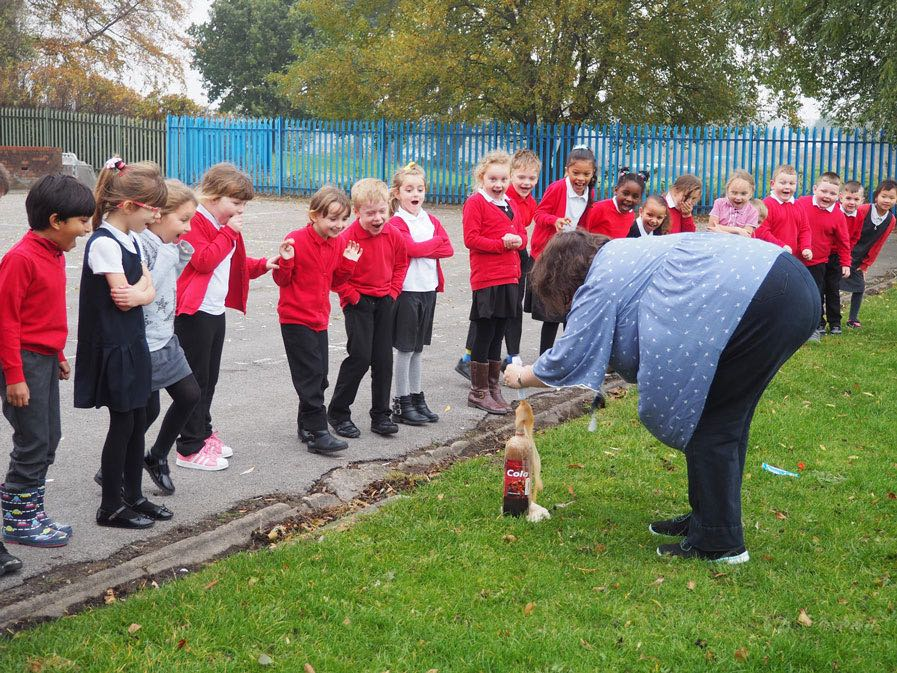 Year 2 explore chemical reactions