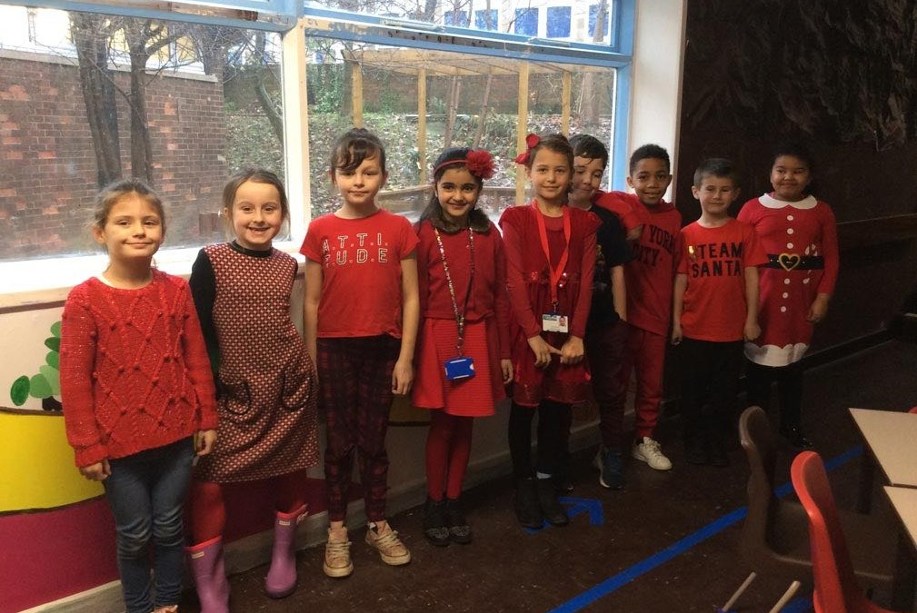 Parklands showed racism the Red Card on Wednesday 28th November