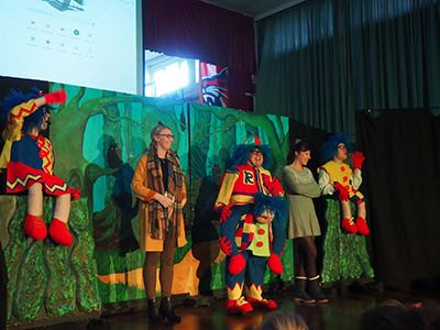 Fantastic Pantomime Performance