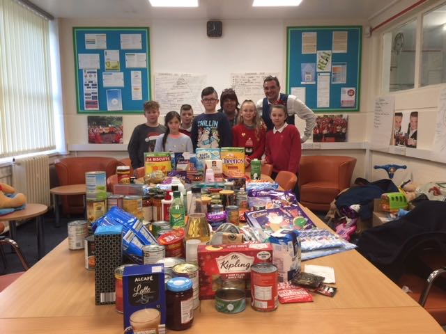 @HEE_YHumber contribute towards our Xmas Hampers