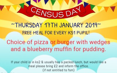 Census Day – Thursday 17th January 2019