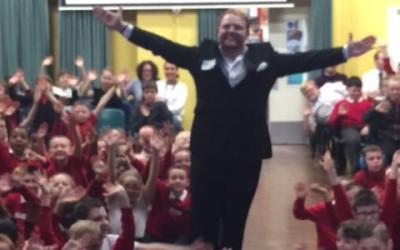 Jacob Walsh #YorkshireTenor visits Parklands