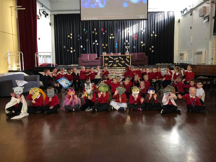 Year 1 performed their first assembly today!