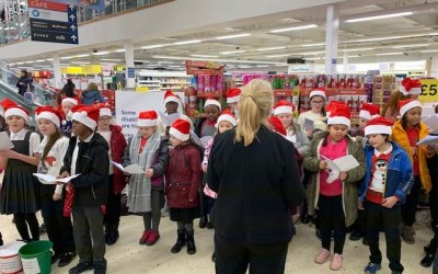 Parklands Choir at Tesco