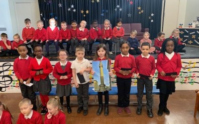 Y2 Class Assembly about the Great Fire of London