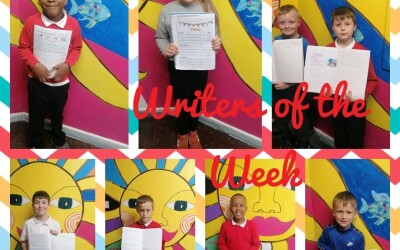 Writers of the Week