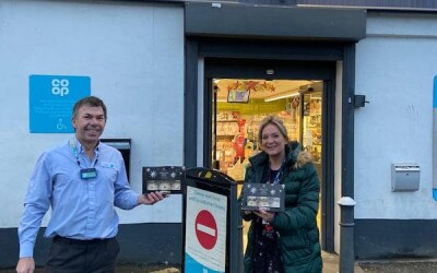 7th Day of Christmas – Mince pies for the Community