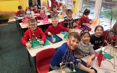 5th Day of Christmas – Lantern Making