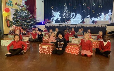 9th Day of Christmas – 300 Winter Hampers