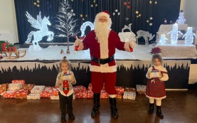 12th Day of Christmas – 380 presents given by Santa